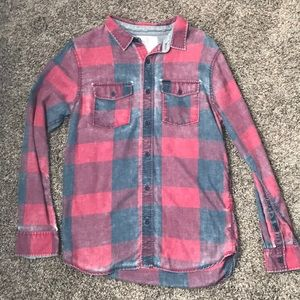On the Byas Flannel Shirt